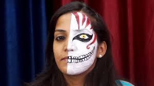 scary face makeup tutorial saubhaya