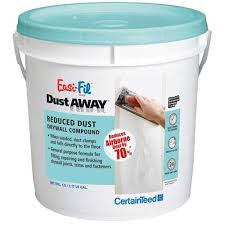 easi fil dust away drywall compound 12