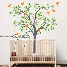 Kids Wall Decals Tree Wall Decal Children Tree Decals Tree Etsy