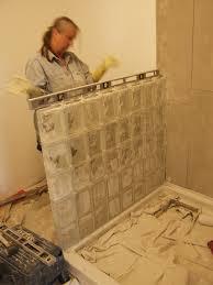 macky s new house glass block shower