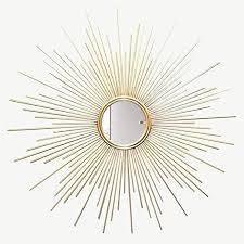 com wall mirror sunburst