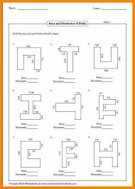 13 area of irregular shapes worksheet