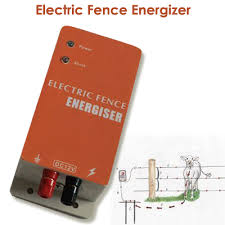 10km Electric Fencing Controller Electric Fence Energizer Charger For Animals Cow Sheep Horse Deer Bear Pig Goat Dog Chicken Charger Portable Charger Epadcharger Motorcycle Aliexpress