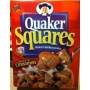 quaker oatmeal squares cereal crunchy