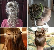 تسريحات شعر للاطفال بنات بالورود في شم النسيم مشاهير