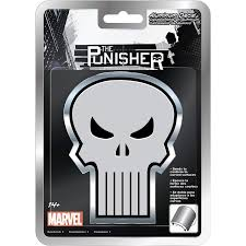 Chroma Punisher Decal Bending Aluminum Punisher Decal For Car By Goso Direct