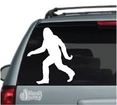 Sasquatch Car Decals Stickers Decal Junky