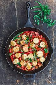 Mediterranean-Style Scallops Recipe ...