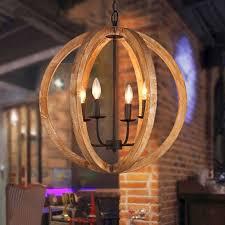 globo globo lampadario metallo ruggine