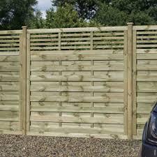 Rowlinson Langham Fence Panel Garden Street