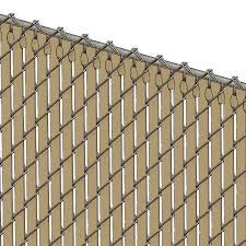 Pds Tl Chain Link Fence Slats Top Lock 4 Foot Beige