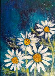 Daisy Daisy Painting by Selena Smith