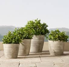 outdoor planters to perk up your garden