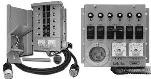 install a generator transfer switch