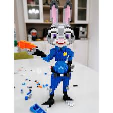 Bộ Đồ Chơi Lego Xếp Hình Động Vật Thú Vị Cho Người Lớn