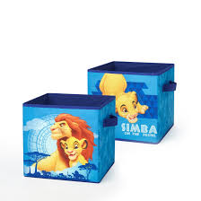 Disney Lion King 2 Pack Storage Cubes Walmart Com Walmart Com