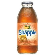 snapple peach iced tea american