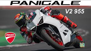 2020 new Ducati Panigale V2 955 White Rosso with Pecco Bagnaia action promo  video - YouTube