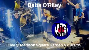 the who baba o riley live madison