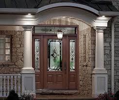 doors fiberglass front door with