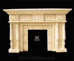 artificial stone fireplace mantels