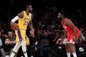 Los Angeles Lakers vs Houston Rockets ...