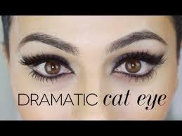 sophia loren inspired cat eye makeup