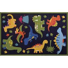 zoomie kids rambo navy blue area rug