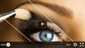 eye makeup application videos satukis
