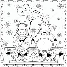 Background Coloring Background With Funny Animals Coloring