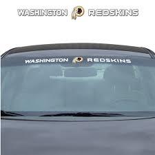 Nfl Washington Redskins Windshield Decal Fanmats Sports Licensing Solutions Llc