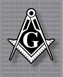 Amazon Com Stonemason Square And Compass Mason Masonic Freemason G Decal Sticker 2 Pack 2 Arts Crafts Sewing