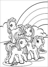 Eenhoorn Coloring Pages My Little Pony Kleurplaat