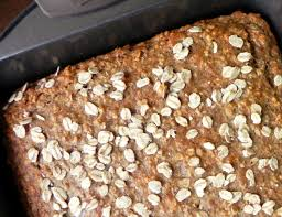 vegan banana oat bread