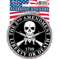 Shop 2nd Amendment Liberty Or Death 1789 Car Decal Overstock 15885957