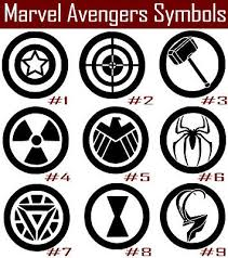 Marvel Avengers Vinyl Decal Sticker Car Iron Man Black Widow Thor Hawkeye Hulk Ebay
