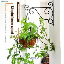25x20 5cm 20 5x30cm Balcony Railing Wall Mounted Flower Hanging Hooks Holder Plant Flower Pot Display Basket Bracket Decoration For Garden Shelf Iron Rack Shelves Shopee Philippines
