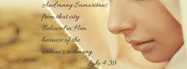 The Samaritan Woman from Luke 4:39 – Ericka O Smith