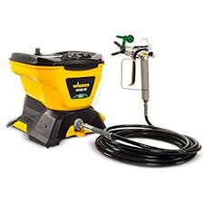Wagner 0580678 Control Pro 130 Power Tank Paint Sprayer High Efficiency Airless With Low Overspray Amazon Com