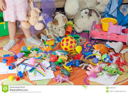 Messy Kids Room With Toys Stock Photo Image Of Puddle 25989058