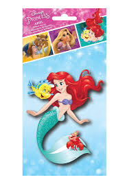 Disney Princess Ariel Glitter Decal