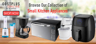 costplus we sell appliances