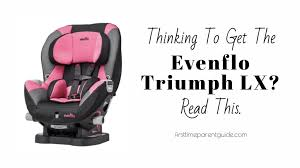 thinking to get the evenflo triumph lx