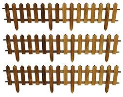 Selections Set Of 6 Wooden Picket Fencin Buy Online In Serbia At Desertcart