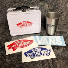 Vans Accessories Metal Lunch Box Stainless Cup Decal Set Poshmark