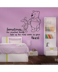 Amazing Deals On Classic Winnie The Pooh Nursery Bedroom Wall Decal Decal House Color Black