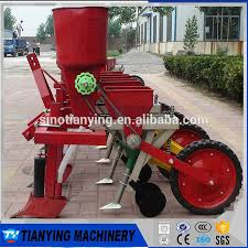 tractor mounted 2 rows corn planter
