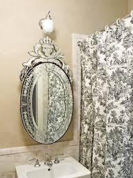 decorative oval mirror bathroom mirrors