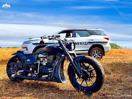 royal enfield modified into