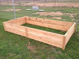 cedar garden bed ana white